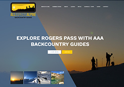 website design for backcountry guides